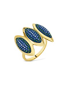 Atelier Swarovski - by Themis Zouganeli Triple Evil Eye Cocktail Ring