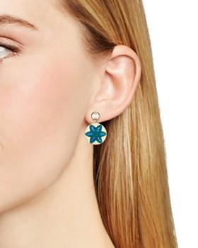 Atelier Swarovski - by Themis Zouganeli Evil Eye Round Earrings