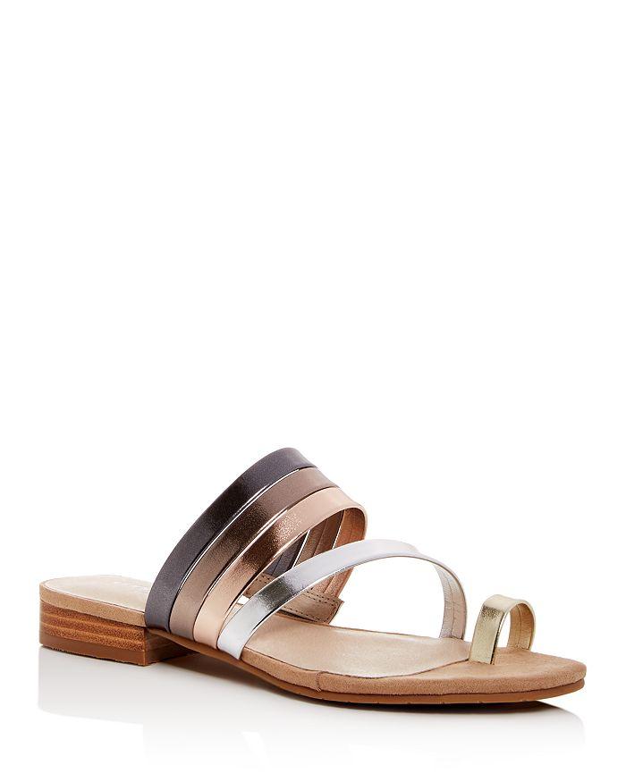 Kenneth Cole - Women's Valen Scroll Toe-Ring Sandals