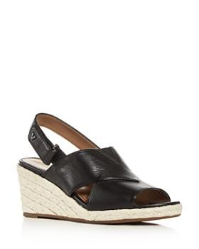 Vionic - Women's Zamar Slingback Platform Wedge Espadrille Sandals