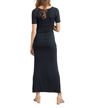 Nom Maternity - Hugo Ruched Maxi Dress