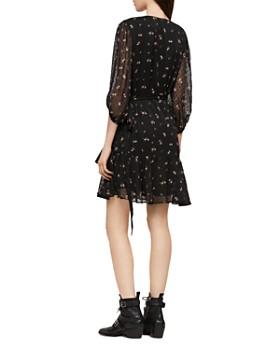 ALLSAINTS - Jade Aster Clip Dot Wrap Dress