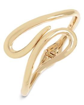 Robert Lee Morris Soho - Sculptural Loop Hinged Bracelet
