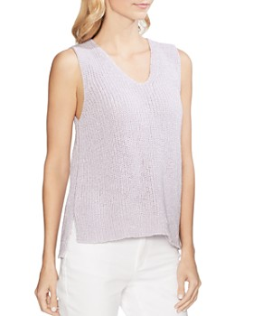 ad9934b8edcb VINCE CAMUTO - Sleeveless V-Neck Sweater - 100% Exclusive ...