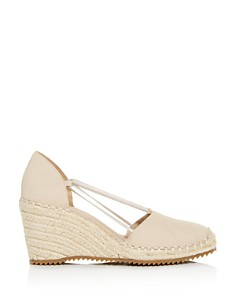 Eileen Fisher - Women's Wedge d'Orsay Espadrille Pumps