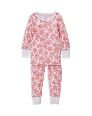 Aden and Anais Girls' Two-Piece Flower Pajama Set - Baby