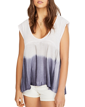 Free People Tops PARADISE DIP-DYE TEE
