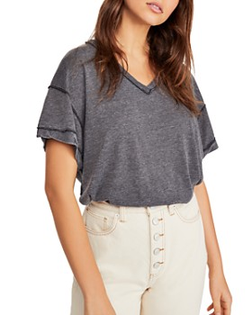 a278276e20b305 Women's Tees: T-Shirts, Long Sleeve & More - Bloomingdale's
