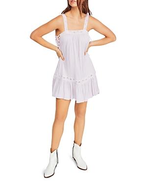 Free People Dresses SWEET THING SLEEVELESS SIDE-TIE DRESS