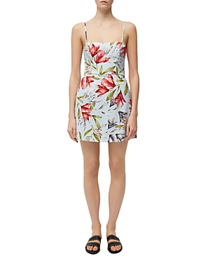 French Connection Dresses CADENCIA WHISPER FLORAL-PRINT MINI DRESS