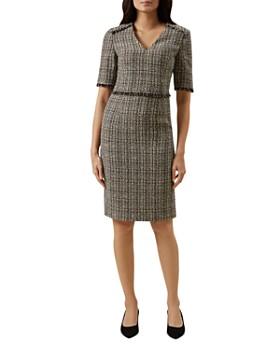 bd151d51d7d HOBBS LONDON - Jessie Tweed Sheath Dress ...