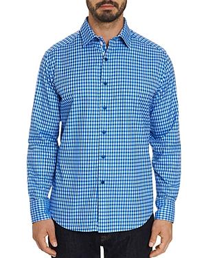 Robert Graham T-shirts CONLAN ABSTRACT-PATTERNED CLASSIC FIT SHIRT