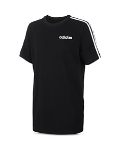 Adidas - Boys' Core Three-Stripe Tee - Little Kid