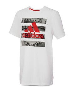 Adidas - Boys' Hacked Split-Graphic Tee - Little Kid