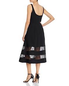 Aidan by Aidan Mattox - Lace-Inset Dress