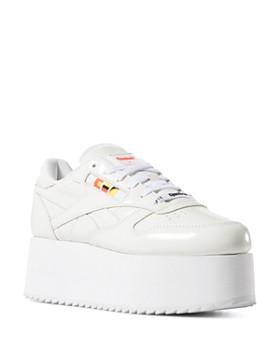 81613d2a78 Reebok - x Gigi Hadid Women s Classic Leather Triple Platform Sneakers ...