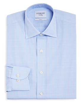 Ledbury - Tauton Check Slim Fit Dress Shirt