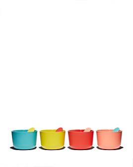 EKOBO - Bambino 8-Piece Ice Cream Cups & Spoons Set