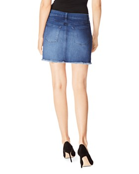 J Brand - Bonny Denim Mini Skirt in Galaxy