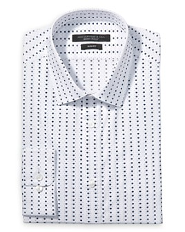 John Varvatos Star USA - Florette Print Slim Fit Dress Shirt