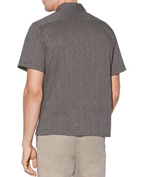 John Varvatos Star USA - Trent Short-Sleeve Geometric-Print Regular Fit Shirt