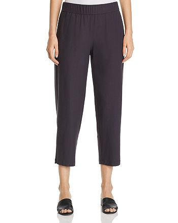 Eileen Fisher Petites - Straight-Leg Cropped Pants