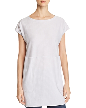 Eileen Fisher Tops TWO-WAY STRIPED TUNIC