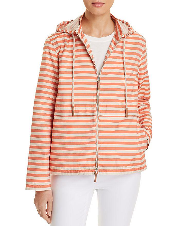 Lafayette 148 New York - Joe Striped Rain Jacket