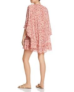 Poupette St. Barth - Foe Floral Poncho Dress