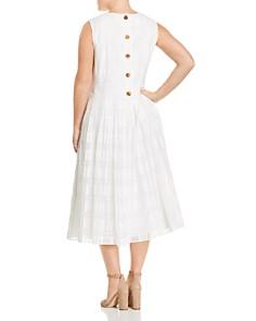 Lafayette 148 New York Plus - Avalynn Sleeveless Checked Shift Dress