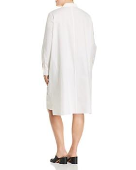 Lafayette 148 New York Plus - Porto Floral-Print Cotton Shirt Dress