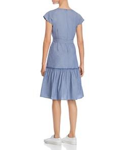 Design History - Cap-Sleeve Denim Dress