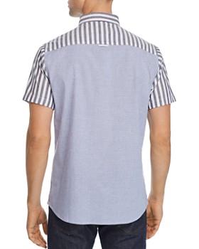 Sovereign Code - Union Short-Sleeve Mixed-Stripe Regular Fit Shirt