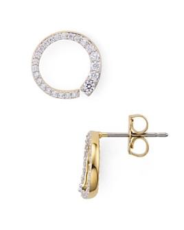 Nadri - Ripple Small Circle Earrings