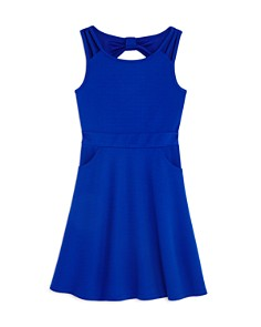 US Angels - Girls' Cutout Scuba Skater Dress - Big Kid