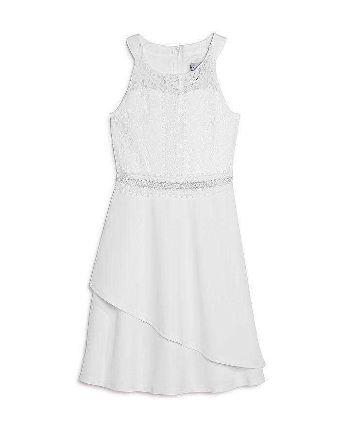 US Angels - Girls' Lace Halter Dress - Little Kid