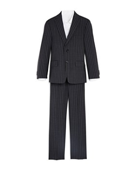 Michael Kors - Boys' Two-Piece Striped Suit - Big Kid