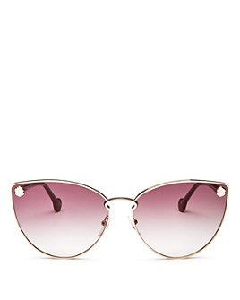Salvatore Ferragamo - Women's Fiore Cat Eye Sunglasses, 64mm