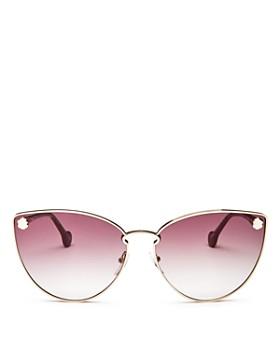Salvatore Ferragamo - Women's Fiore Cat Eye Sunglasses, 64mm