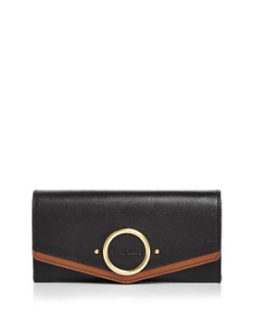 1ed0ff6040 See by Chloé - Aura Long Leather Flap ...