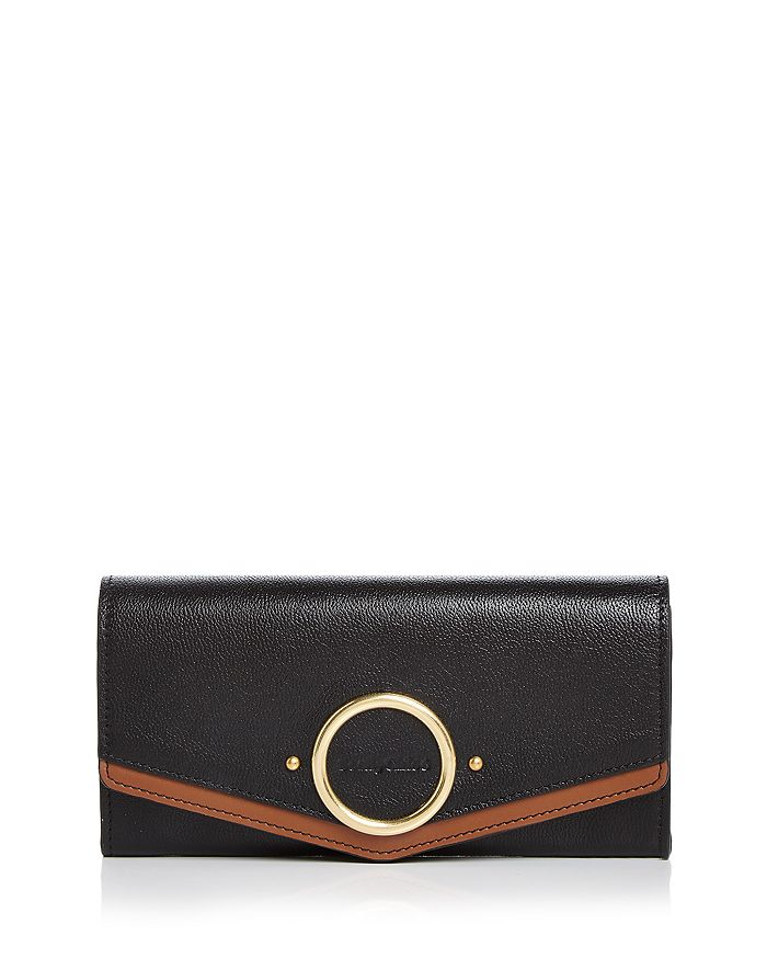 See by Chloé - Aura Long Leather Flap Wallet