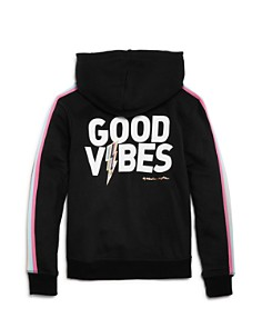 Spiritual Gangster - Girls' Good Vibes Hoodie Pullover - Little Kid, Big Kid
