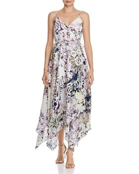 3c5620bb2f AQUA - Tie-Dye Maxi Wrap Dress - 100% Exclusive ...