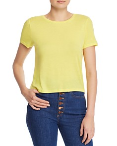 Alice and Olivia - Cindy Cropped Tee