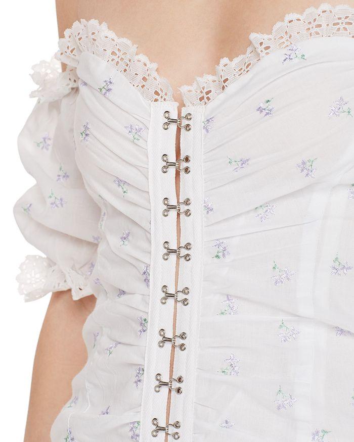 f80b5611f1 For Love   Lemons - Magnolia Off-the-Shoulder Mini Dress