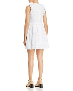 kate spade new york - Eyelet Lace Mini Dress