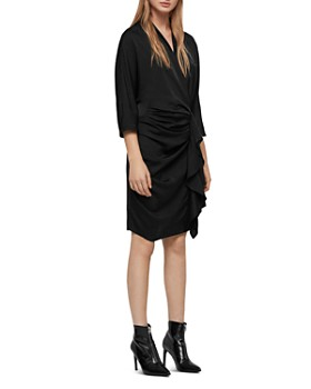 ALLSAINTS - Issey Draped Dress