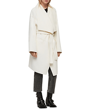 Allsaints Coats ADALEE WRAP COAT