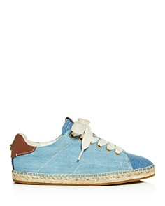 COACH - Women's C101 Low-Top Espadrille Sneakers