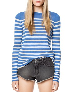 Zadig & Voltaire - Miss Striped Cashmere Sweater